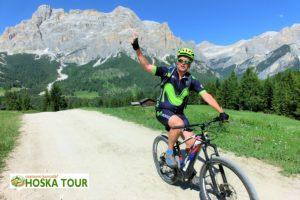 Cyklistika v Dolomitech