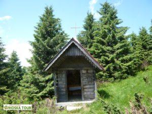 Kaplička u sedla Peremyčka