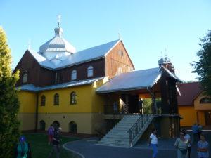 řecko-katolický kostel v Komańcza