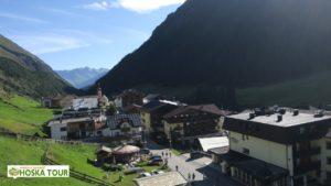 Horská vesnička Vent