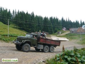 Přeprava nákladu do hor