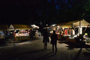 Řemeslné trhy během Bledských dnů