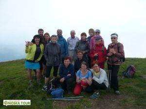 Další skupinová fotka na vrcholu Bliznica