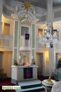 Horský kostel Seiffen