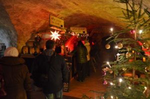 Občerstvení v kasematech na pevnosti Königstein