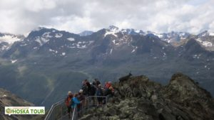 Túra okolo vrcholu Wurmkogel
