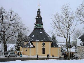 8. Horský kostel Seiffen