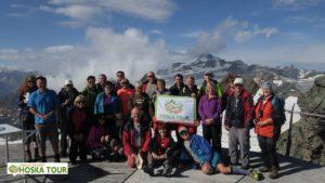 S vrcholem Wildspitze