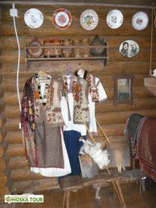 Huculské kroje v muzeu
