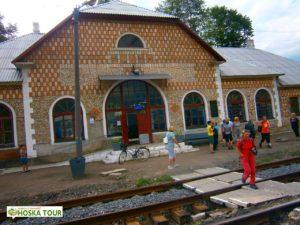 Budova nádraží v Jasini
