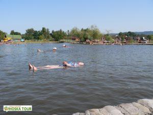 Slaná jezera Solotvina