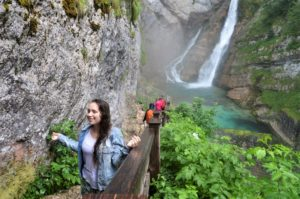 S vodopádem Savica