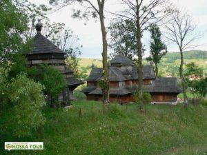 Strukivský kostelík se zvonicí