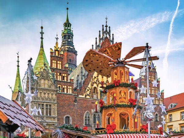 Adventní zájezd Wroclaw - vánoční trhy