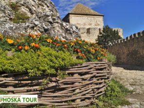 Balaton na kole - hrad Sümeg