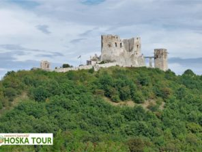 Balaton na kole - zřícenina hradu Szigliget