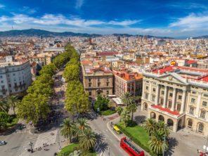 Barcelona - centrum města