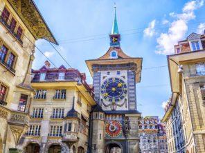Bern - bernský orloj Zytgloggeturm