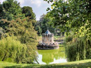 Bojnice - zámecká park