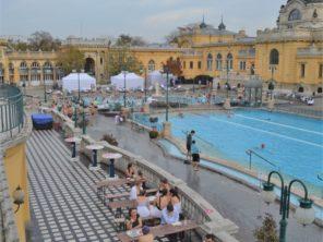 Budapešť - termální lázně Széchenyi