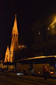 Budapešť - večerní projížďka