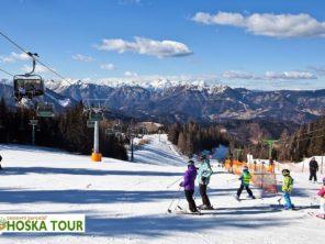 Cerkno - lyžování Slovinsko