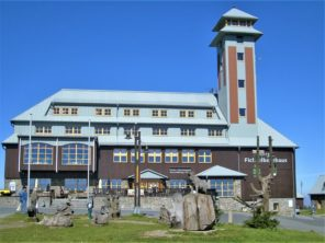 Chata na Fichtelbergu