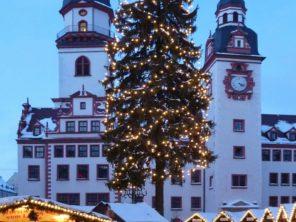 Chemnitz - vánoční trhy a průvod Bergparade