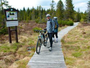 Cyklistika u Božídarského rašeliniště