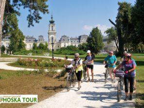 Cyklotrasy u jezera Balaton - zámek Keszthely