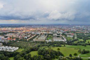 Turistika v okolí Zugspitze - Olympijská televizní věž v Mnichově