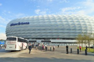 Turistika v okolí Zugspitze - Allianz aréna Mnichov