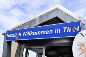 Turistika v okolí Zugspitze - státní hranice