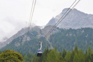 Turistika v okolí Zugspitze - lanovka