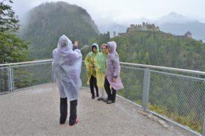 Turistika v okolí Zugspitze - s hradem Ehrenberg