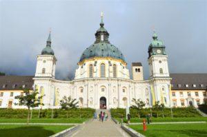 Turistika v okolí Zugspitze - klášter Ettal