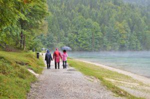 Turistika v okolí Zugspitze - jezero Eibsee