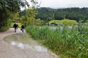 Turistika v okolí Zugspitze - jezero Lautersee