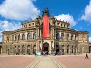 Drážďany - Semperova opera