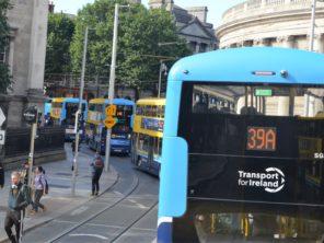 Dublin - městské autobusy