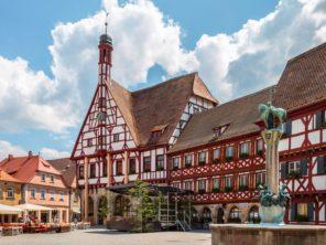 Forchheim - radnice na náměstí