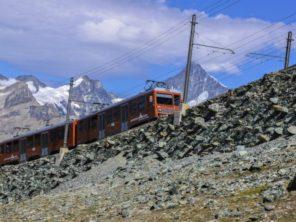 Vlak na Gornergrat