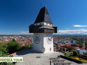 Graz - Hodinová věž