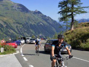Grossglockner Hochalpenstrasse na kole