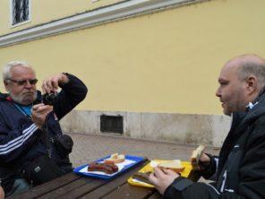 Győr - maďarské rýžové jitrnice a jelito