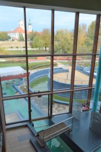 Győr - termální lázně Rába Quelle