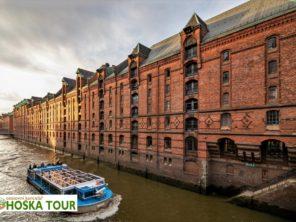 Hamburg - vodní kanály