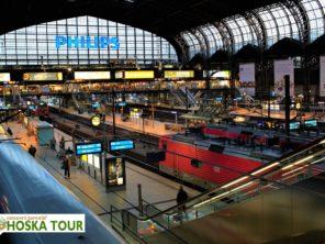 Hamburk - vlakové nádraží