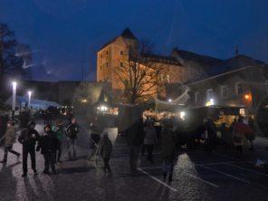 Advent ve městečku Hohnstein