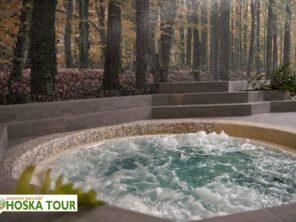 Hotel Špik - jacuzzi v saunovém světě